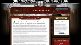 Pottermore: Primer Vistazo a la Historia del Expreso de Hogwarts Escrita por JK Rowling!