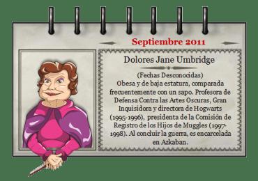 'Mago del Mes' – Septiembre 2011
