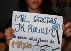 Vídeo de la Semana: 'Fans Dicen Gracias a JK Rowling/Latinoamerica y España'
