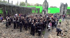 Nuevas Fotografías Detrás de Escena de La Batalla de Hogwarts