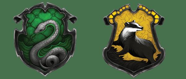 Pottermore c mo se crearon los escudos de las casas - Harry potter casas ...