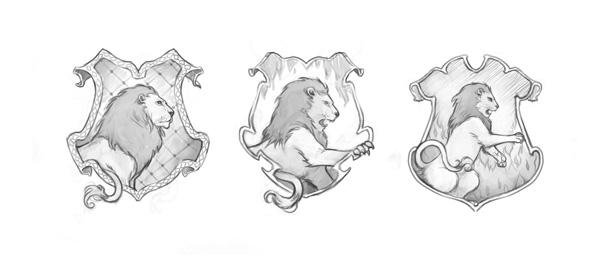 Pottermore Cómo Se Crearon Los Escudos De Las Casas Ravenclaw Y
