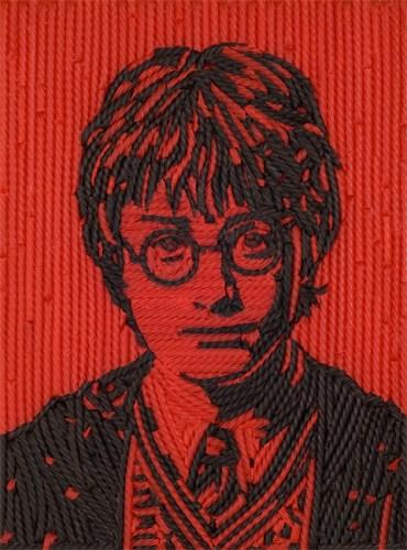 Artista Jason Mecier Crea Imagen de 'Harry Potter' con Regaliz!