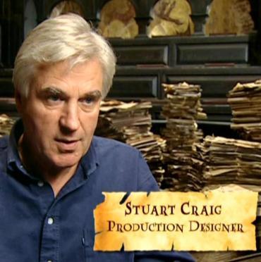Diseñador de Producción Stuart Craig, Nominado por el 'Art Directors Guild' por 'Las Reliquias II'