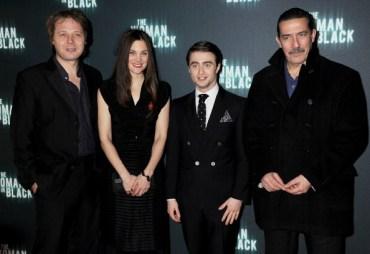 Imágenes de Daniel Radcliffe y Ciaran Hinds en la Premier Mundial de la Cinta 'The Woman in Black'