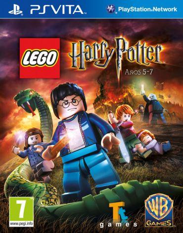 Revelada Portada Oficial de 'Harry Potter LEGO Años 5-7' para la Consola PlayStation Vita