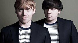 Imagen de la Semana: Rupert y James Grint