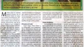 """""""Las dos caras de Harry Potter"""" en el diario venezolano 2001"""