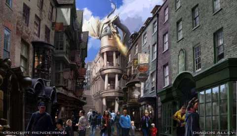 Harry Potter BlogHogwarts Trabajo en el Callejón Diagon