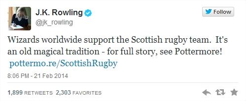 Harry Potter BlogHogwarts JK Rowling Twitter 01