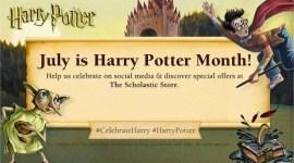 Scholastic Celebrará el Cumpleaños de Harry Potter durante todo el Mes de Julio