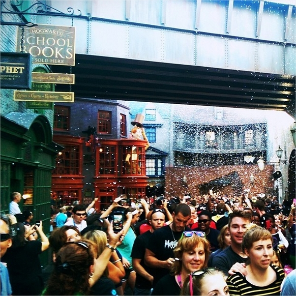 Harry Potter BlogHogwarts Apertura Callejon Diagon (9)