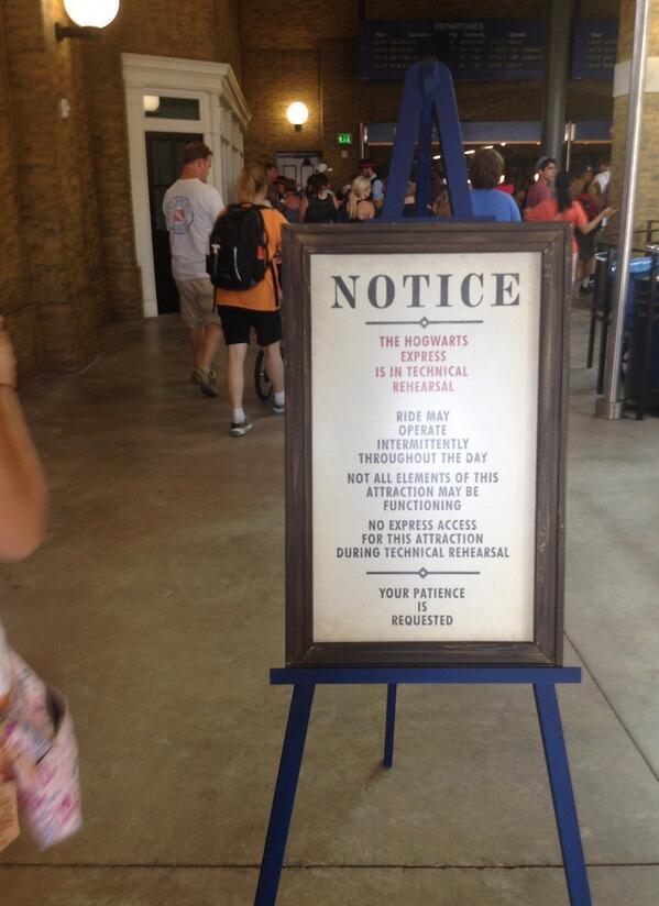Harry Potter BlogHogwarts Expreso de Hogwarts Anuncio