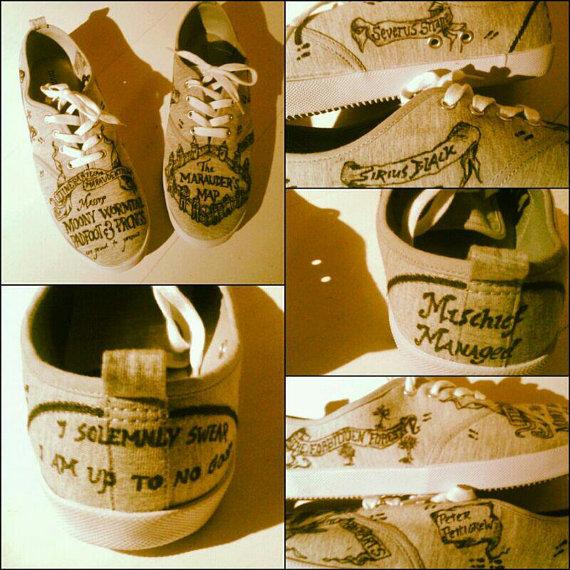 Harry Potter BlogHogwarts Zapatos de Harry Potter (13)