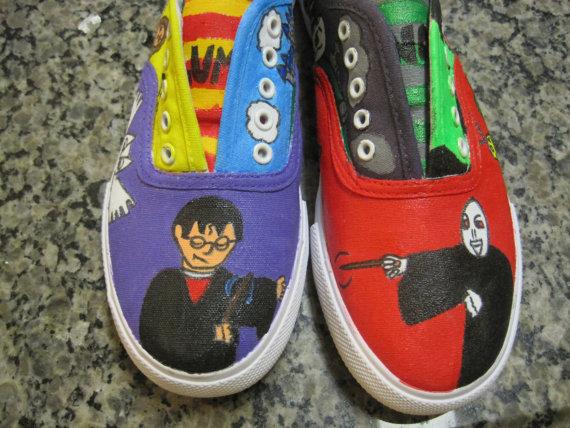 Harry Potter BlogHogwarts Zapatos de Harry Potter (22)