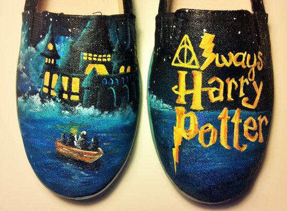 Harry Potter BlogHogwarts Zapatos de Harry Potter (27)