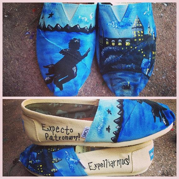 Harry Potter BlogHogwarts Zapatos de Harry Potter (31)
