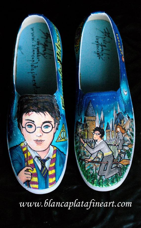 Harry Potter BlogHogwarts Zapatos de Harry Potter (32)