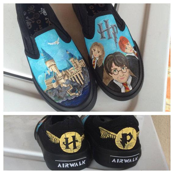Harry Potter BlogHogwarts Zapatos de Harry Potter (6)