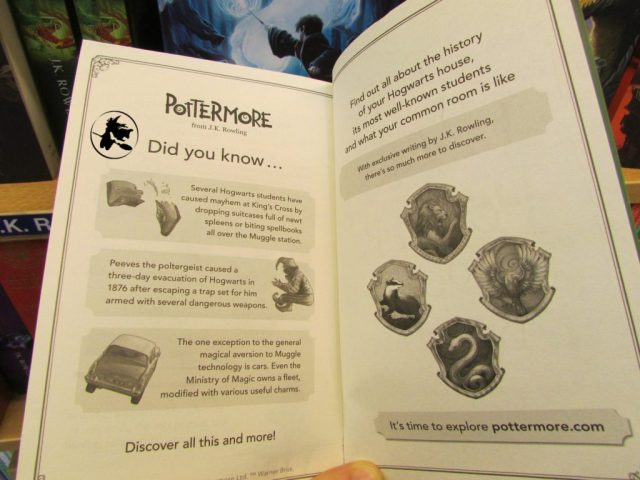 Harry Potter BlogHogwarts Bloomsbury Pottermore (1)