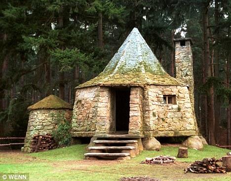 Harry Potter BlogHogwarts Plano Cabaña de Hagrid 2