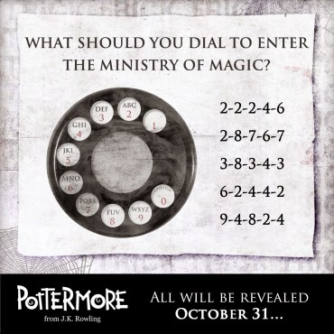 """""""Truco"""" de Pottermore: ¿Puedes Descifrar el Código?"""
