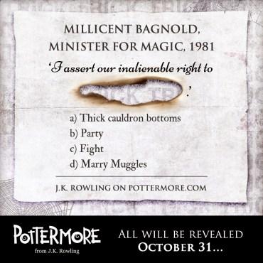 """""""Truco"""" de Pottermore: ¿Recuerdas la Confederación Internacional de Magos en 1981?"""