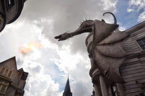 Fuego Dragon Gringotts