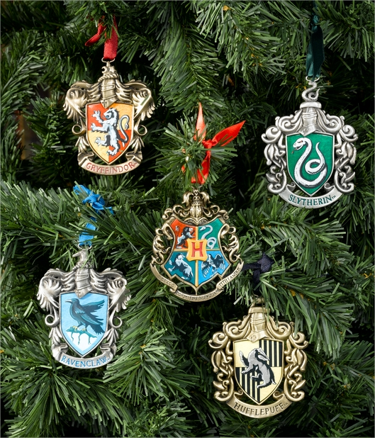 Harry Potter BlogHogwarts Navidad Arbol Ornamento (1)