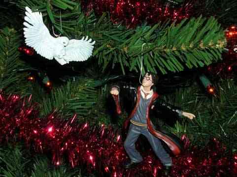Harry Potter BlogHogwarts Navidad Arbol Ornamento (10)