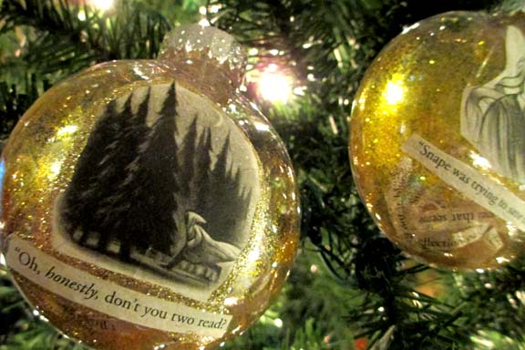 Harry Potter BlogHogwarts Navidad Arbol Ornamento (18)