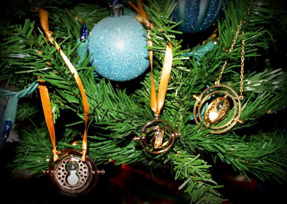 Harry Potter BlogHogwarts Navidad Arbol Ornamento (25)