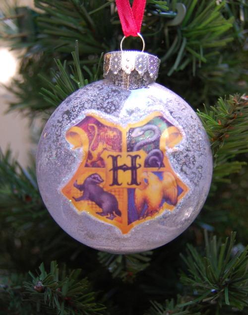 Harry Potter BlogHogwarts Navidad Arbol Ornamento (6)