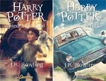 Salamandra Confirma Nuevas Portadas de Harry Potter en Español