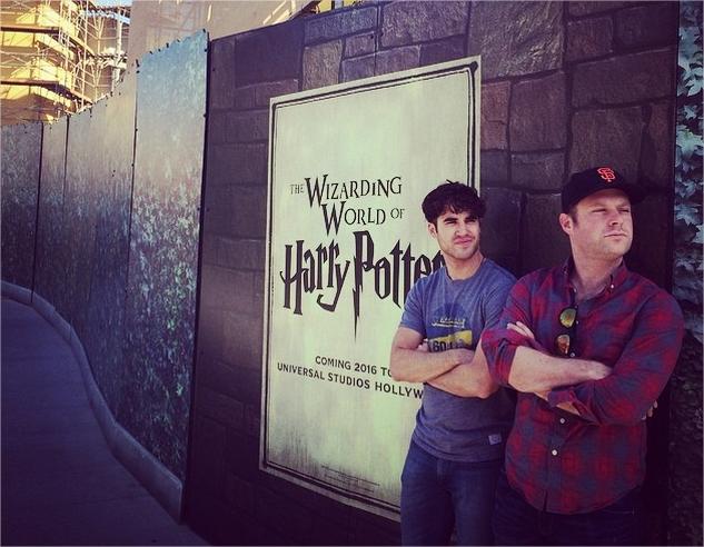 Harry Potter BlogHogwarts Parque Hollywood Darren Chris