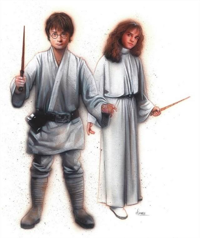 Harry Potter BlogHogwarts Star Wars