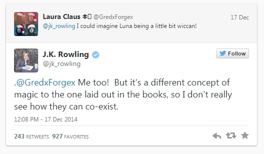 Harry Potter BlogHogwarts Twitter 2