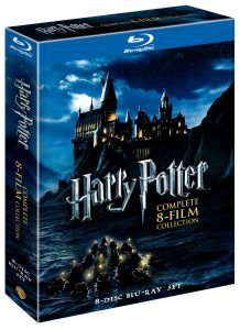 harry potter blu ray
