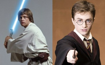 Diez Semejanzas entre Harry Potter y Luke Skywalker
