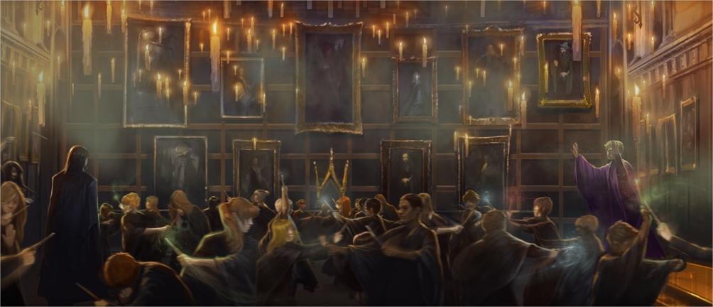 Harry Potter BlogHogwarts Clue de Duelo
