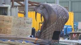 Nuevas Fotografías de la Construcción de Hogwarts en Hollywood