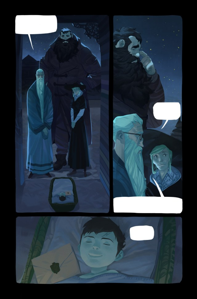 Harry Potter BlogHogwarts Comic (1)