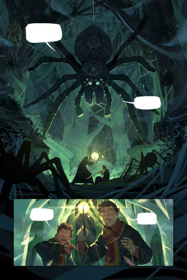 Harry Potter BlogHogwarts Comic (2)