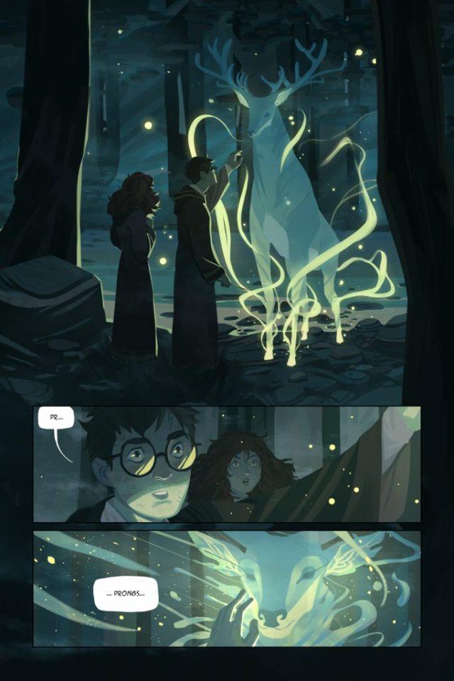 Harry Potter BlogHogwarts Comic (3)
