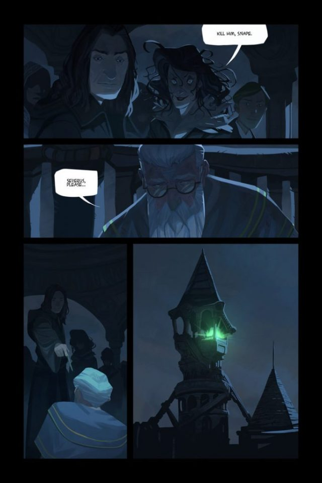 Harry Potter BlogHogwarts Comic (6)