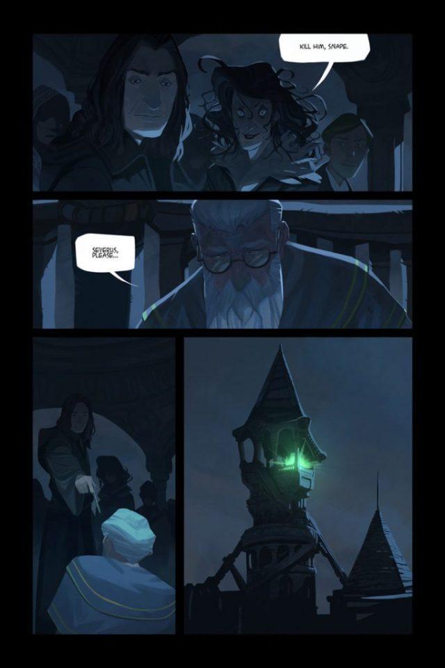 Harry Potter BlogHogwarts Comic (6)