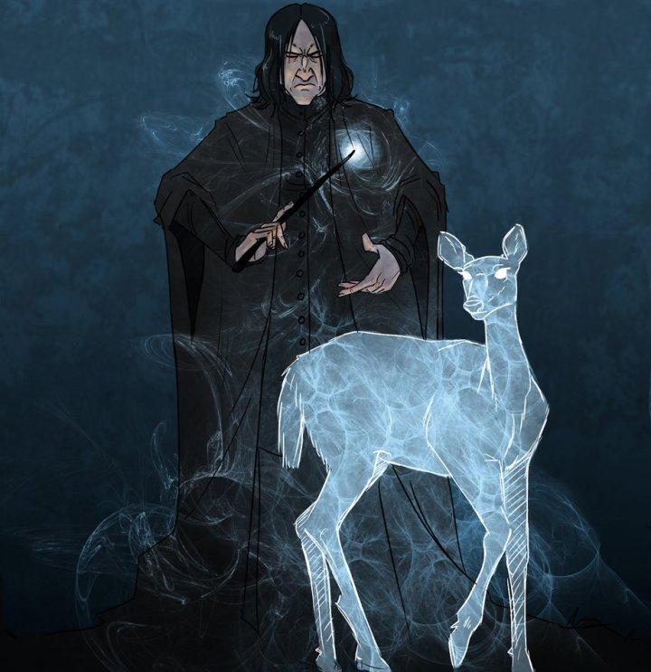 Harry Potter BlogHogwarts Fan Art Severus Snape (10)