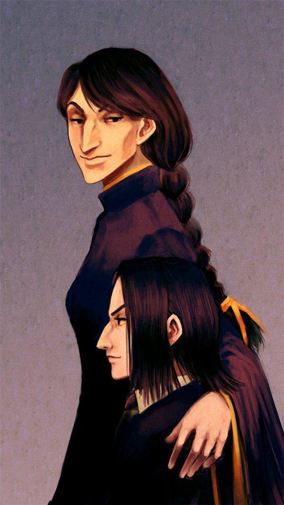 Harry Potter BlogHogwarts Fan Art Severus Snape (12)