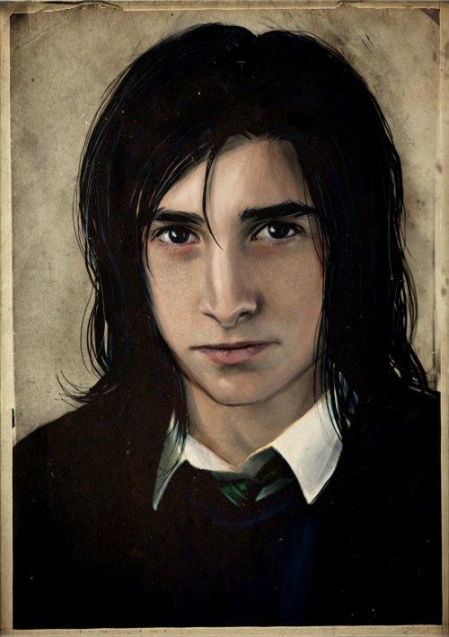 Harry Potter BlogHogwarts Fan Art Severus Snape (13)