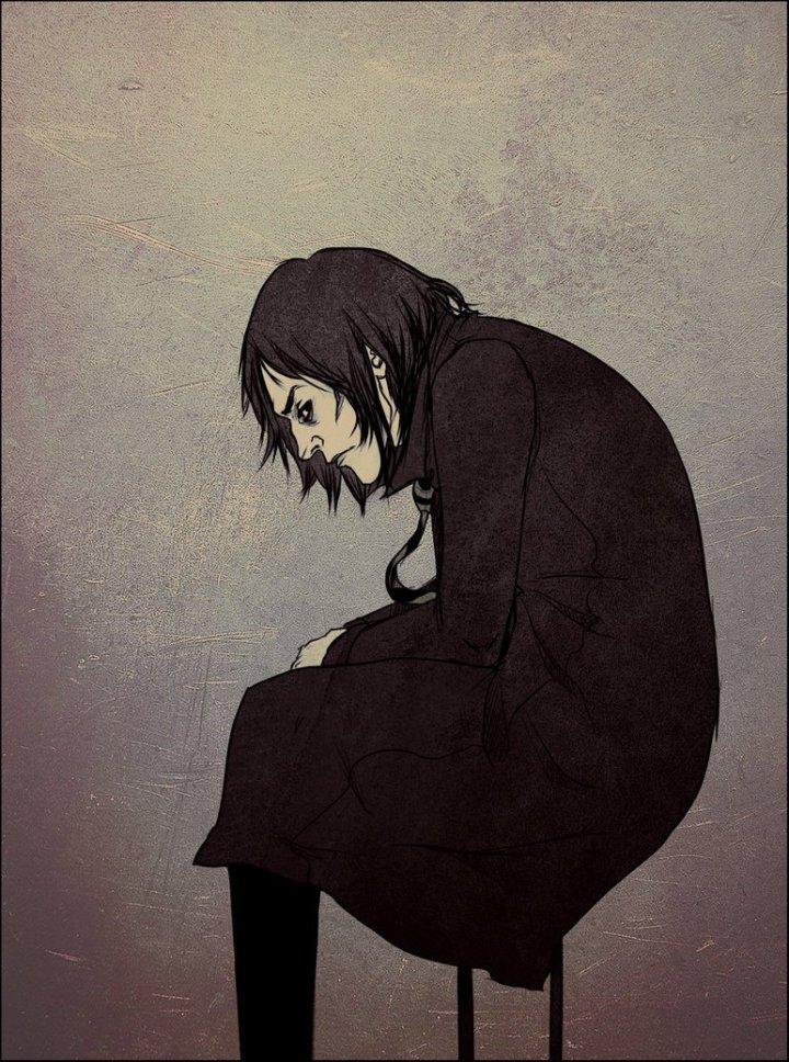 Harry Potter BlogHogwarts Fan Art Severus Snape (14)